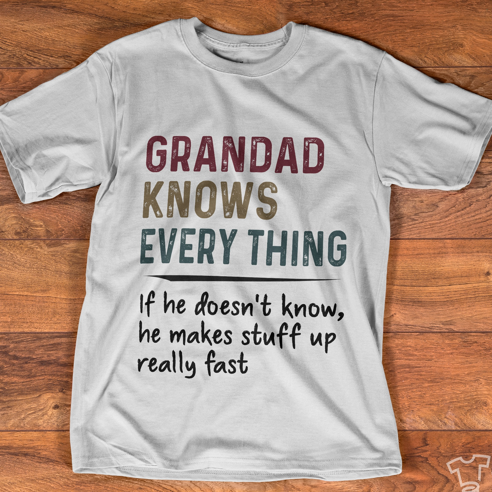 Grandad knows every thing