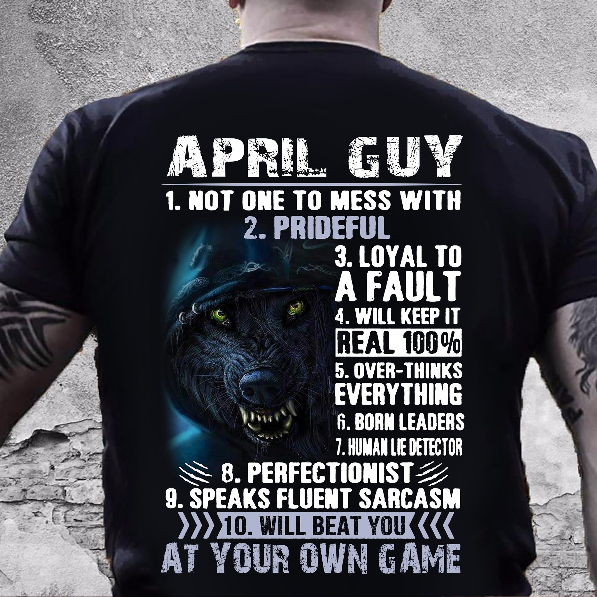 april guy at your own game