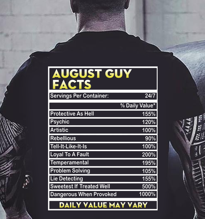 august guy facts