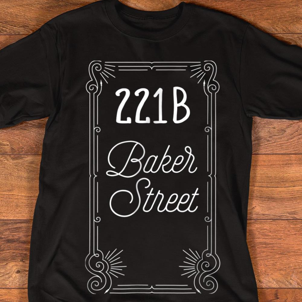 221b Beaker Street Bunsen Beaker Muppet Show x Sherlock Holmes Black T-Shirt