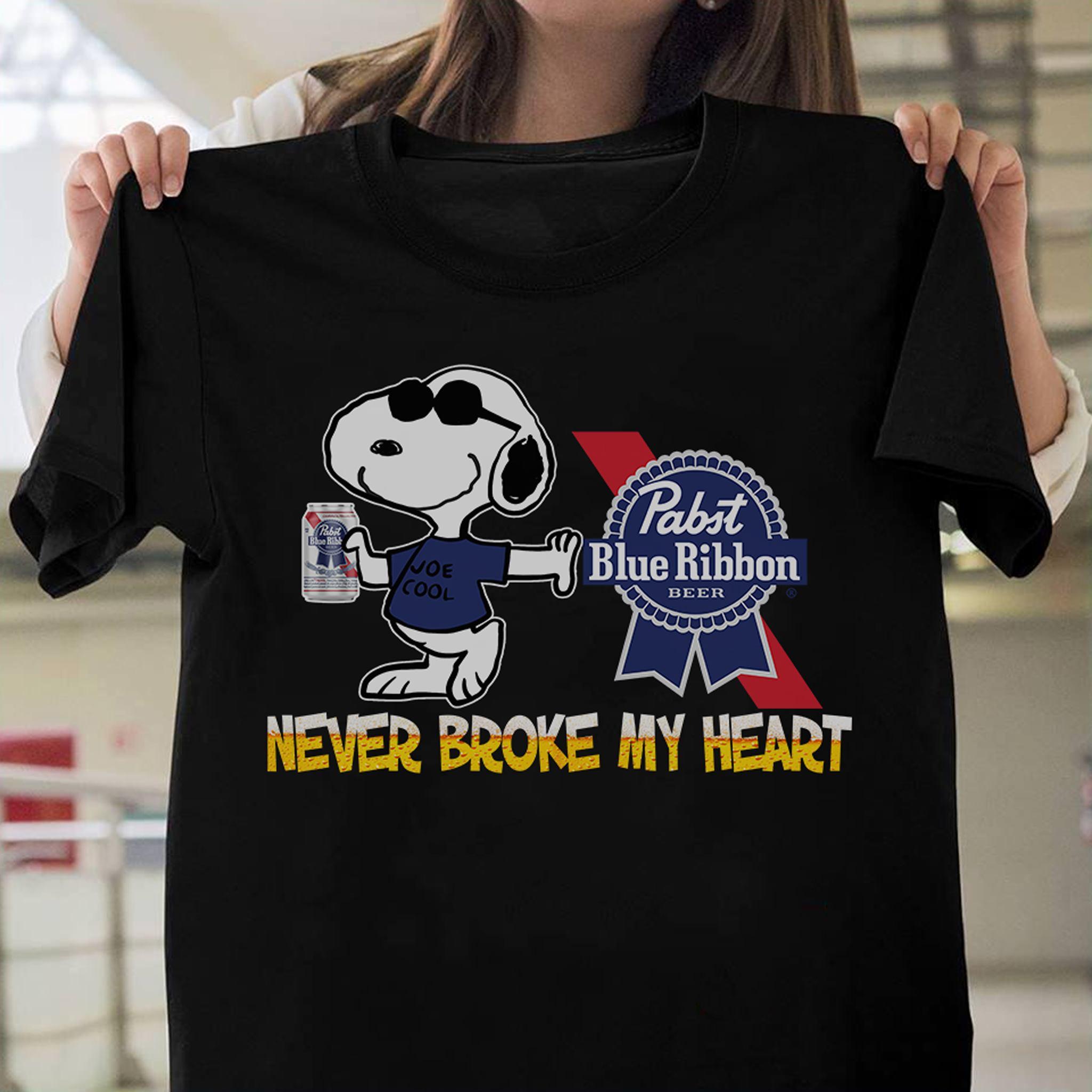 never broke my heart